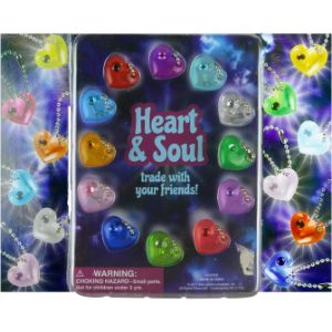 Heart and Soul Gems Blister Display