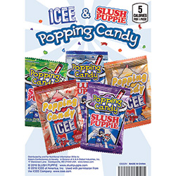 ICEE®/SLUSH PUPPiE® Candy Display Card