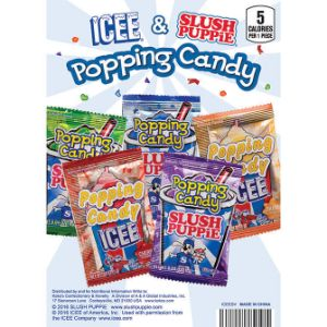 ICEE®/SLUSH PUPPiE® Candy Mix in 1.1'' Capsules (250 pcs)