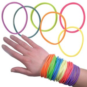 Jelly Bracelets in 1.1'' Capsules (250 pcs)