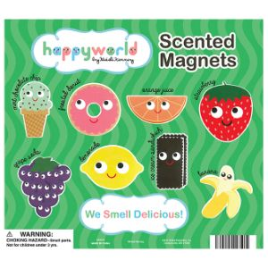 Happyworld Scented Magnets Display Card