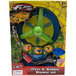 Launcher, Flyer & Bubble Wand
