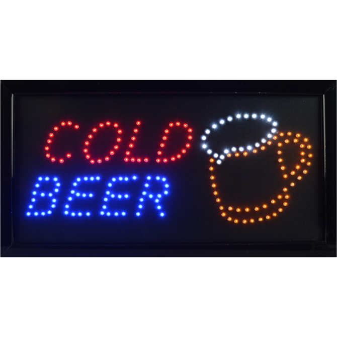 LED Sign: Cold Beer | A&A Global Industries