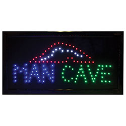 LED Man Cave Sign