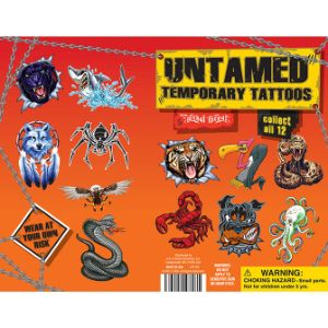 Untamed Tattoos Display Card