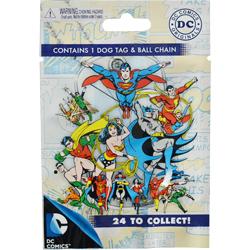 Dc Comics Dog Tag Set Blind Pack 12pcs A Amp A Global