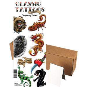 Classic Tattoos Series 2 in Folders (300 pcs)