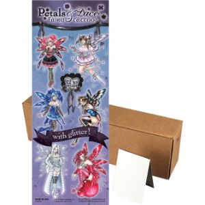 Glitter Fairies Series 1 Tattoos in Folders (300 pcs)