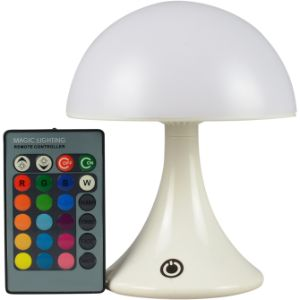 Mushroom Color Changing Lamp with Remote