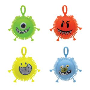 Light-Up Monster Puffer Ball (24 pcs)
