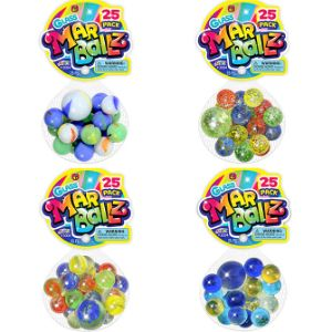 Glass Marballz 25pk