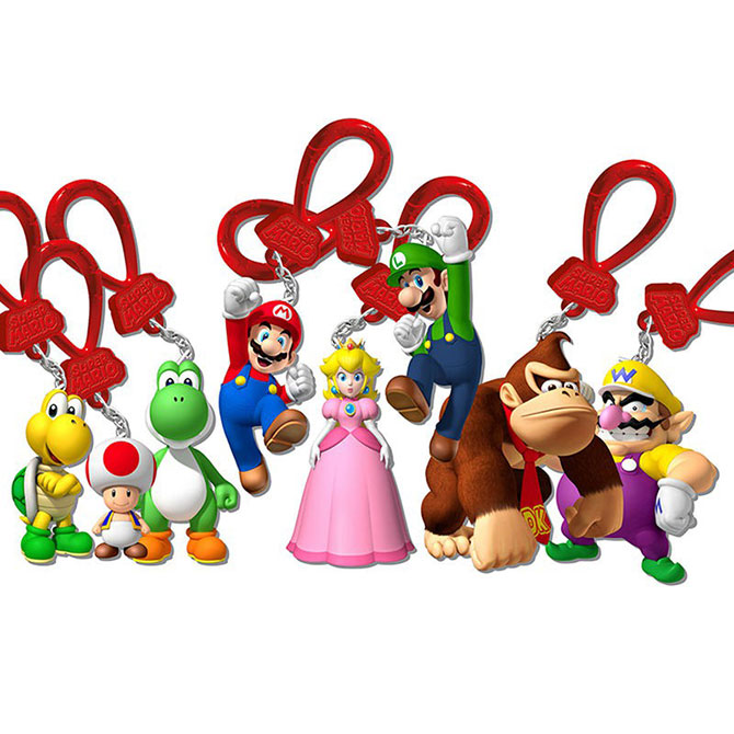Mario And Friends Figure Hangers Blind Bag A Amp A Global