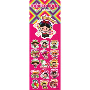 Mexico Lindo Stickers Display