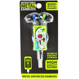 Metal Retractable Earbuds