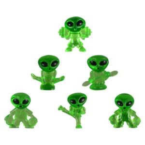 Mini Alien Series 8 Figurines in 1.1'' Capsules (250 pcs)