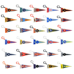 MLB Pennant Clips in 2'' Capsules