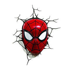 Spider-Man Face 3D Light