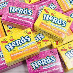 Nerds Double Dipped Mini Boxes - Case (650 pcs)
