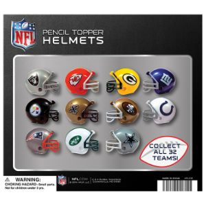 NFL Football Helmets Display Card