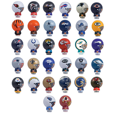 NFL Capsule Buildable Figurines