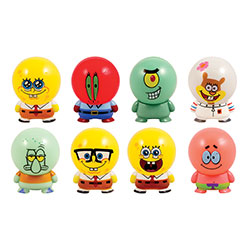SpongeBob Capsule Buildables Figurines (250 pcs)