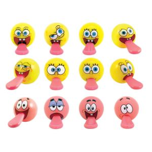 SpongeBob Tongue Tuggerz in Bulk Bag (100 pcs)