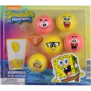 SpongeBob Poppers Blister Display