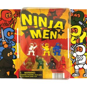 Ninja Fighters Figurines Blister Display