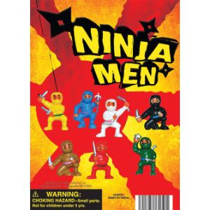 Ninja Fighters Figurines Display Card