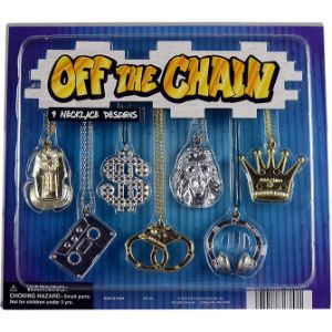 Off The Chain Necklaces Blister Display
