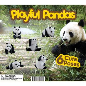 Playful Pandas Display Card