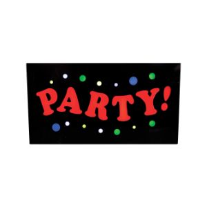 Party Acrylic Flashing Sign