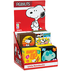 Peanuts Little Notebook Asst (24 pcs)