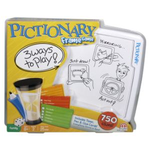 Pictionary Frame Game