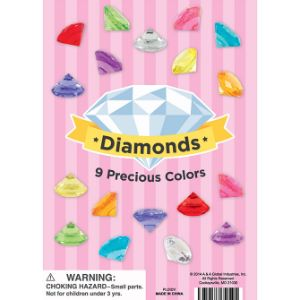 Plastic Diamonds Display Card