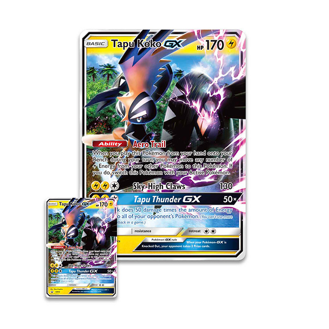 Pokémon Shiny Tapu KoKo GX Box Set