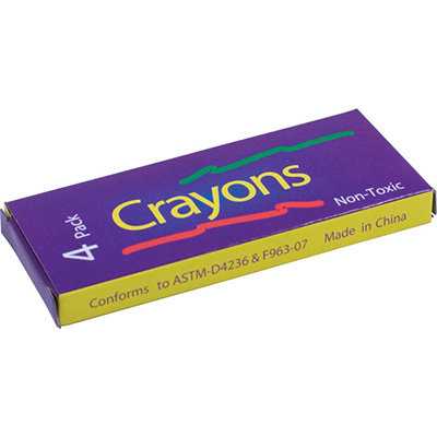 Primo Crayon 4 Pack Boxed