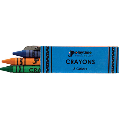 Box 3 pack Crayons (1000 pcs)