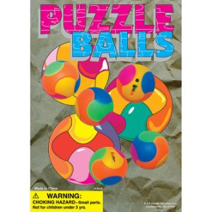 Puzzle Ball Display Card