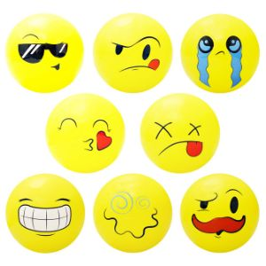 5'' Inflatable Emoji Balls (250 pcs)