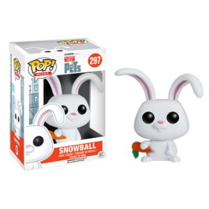 Pop Vinyl Secret Life of Pets Figure Snowball