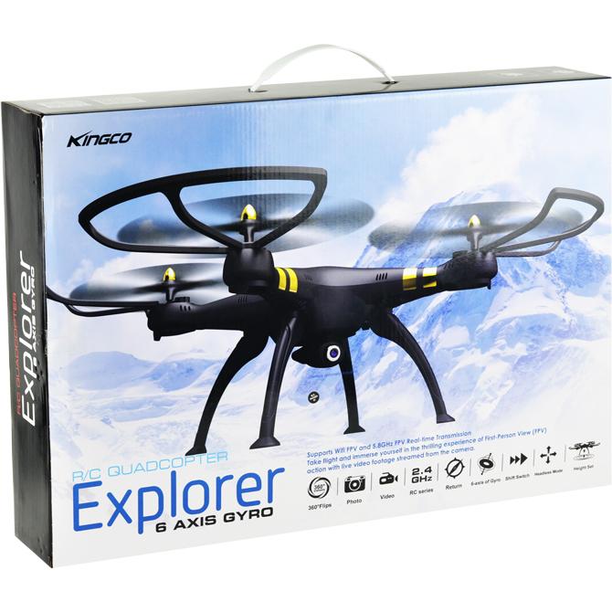 Explorer drone