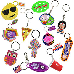 Sports Arena Keychain Kit $1.00avg (192 pcs)