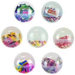 5in Candy Filled Capsule Kit (72pcs)