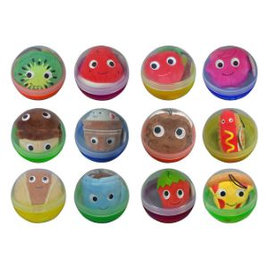 4'' Yummy World Plush Capsule Kit $2.00avg (96 pcs)