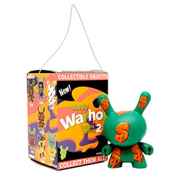 Hanging Kidrobot Andy Warhol Dunny in Blind Box $12avg (12 pcs)