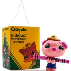 Hanging Kidrobot Crayola Critters in Blind Box $8.50avg (12 pcs)