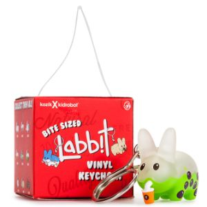 Hanging Kidrobot Bite Sized Labbit Keychains in Blind Box $4avg (24 pcs)