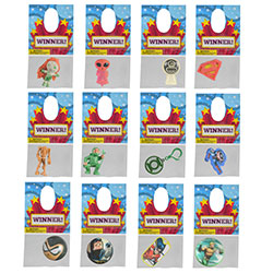 Hanging 288pc Superhero Kit $.29avg