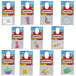 Hanging No Sticky Kit $.18avg (288 pcs)